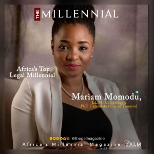 Millennial Cover of Mariam Momodu