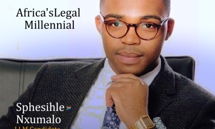 Sphesihle Nxumalo: Africa's Legal Millennial