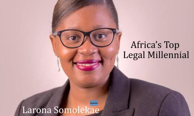Larona Somolekae: Africa's Legal Millennial