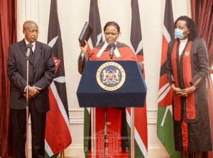 Honourable Lady Justice Martha Karambu Koome