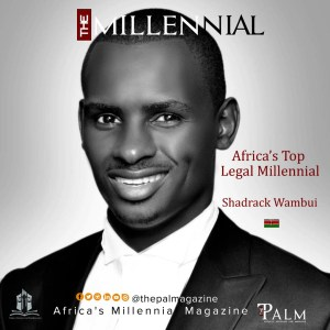 Africa's Legal Millennial Shadrack Wambui