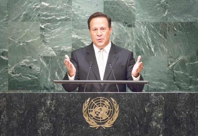 Varela at the UN