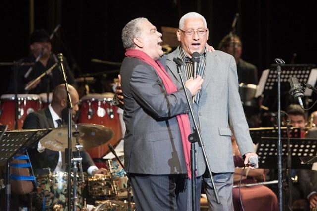 "Danny Rivera and Danilo Pérez Sr. perform""Historia de un Amor."" Rivera gave Danilo Pérez Jr. one of his big breaks in music by having the latter accompany him when he was a 14-yearr-old piano prodigy."