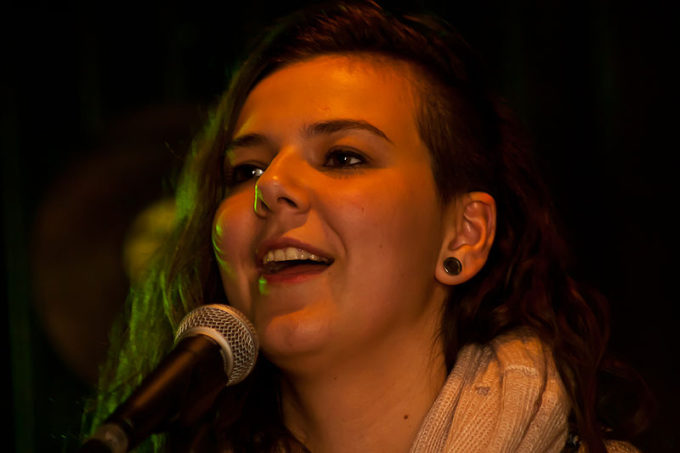 Nanna Bryndis Hilmarsdottir, of the band Of Monsters And Men.