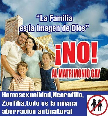 Panama's main Evangelical organization, the Alianza Evangelica de Panama, which has marched against gay marriage in the past and puts out messages like this, promises vigils and protests over this court case. The Evangelicals are a minority in this mostly Catholic country. The Catholic Church also opposes same-sex marriages but is also a bit more wary about being seen as grossly intolerant than the Evangelicals who published this graphic are.