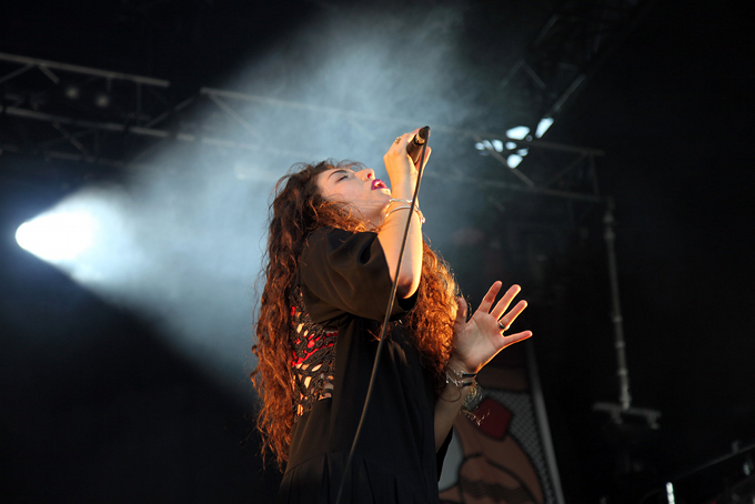 Lorde in 2014
