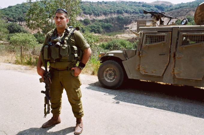 Druze soldier