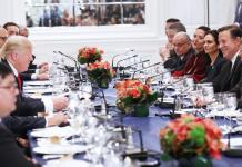Trump - Varela - Temer - Santos et al