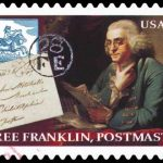 a Franklin stamp
