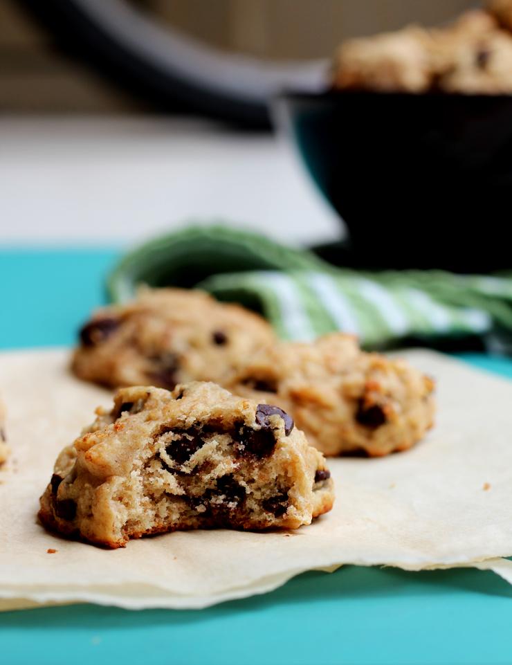 Banana Yogurt Cookies