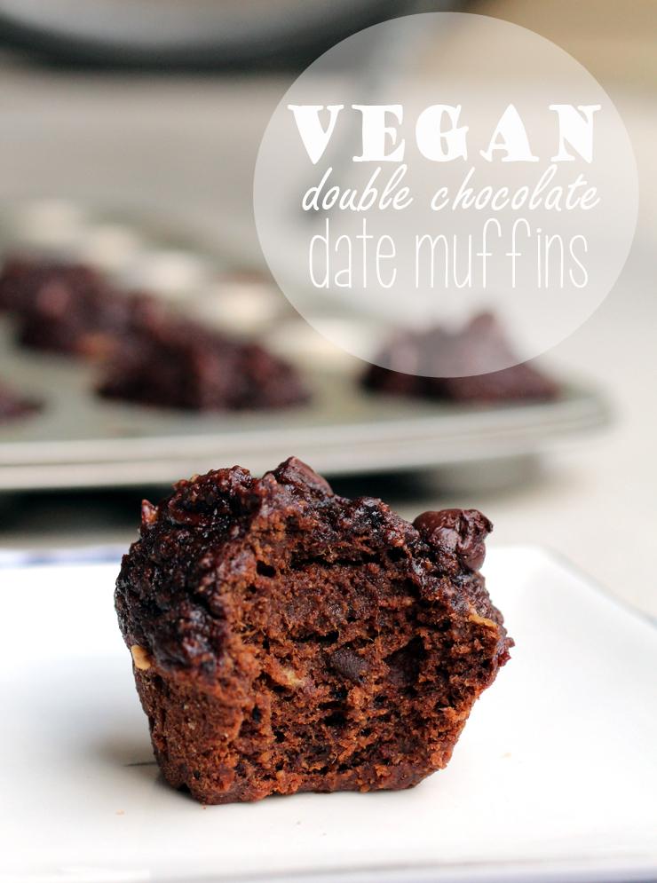 Healthy Chocolate Mini Muffins