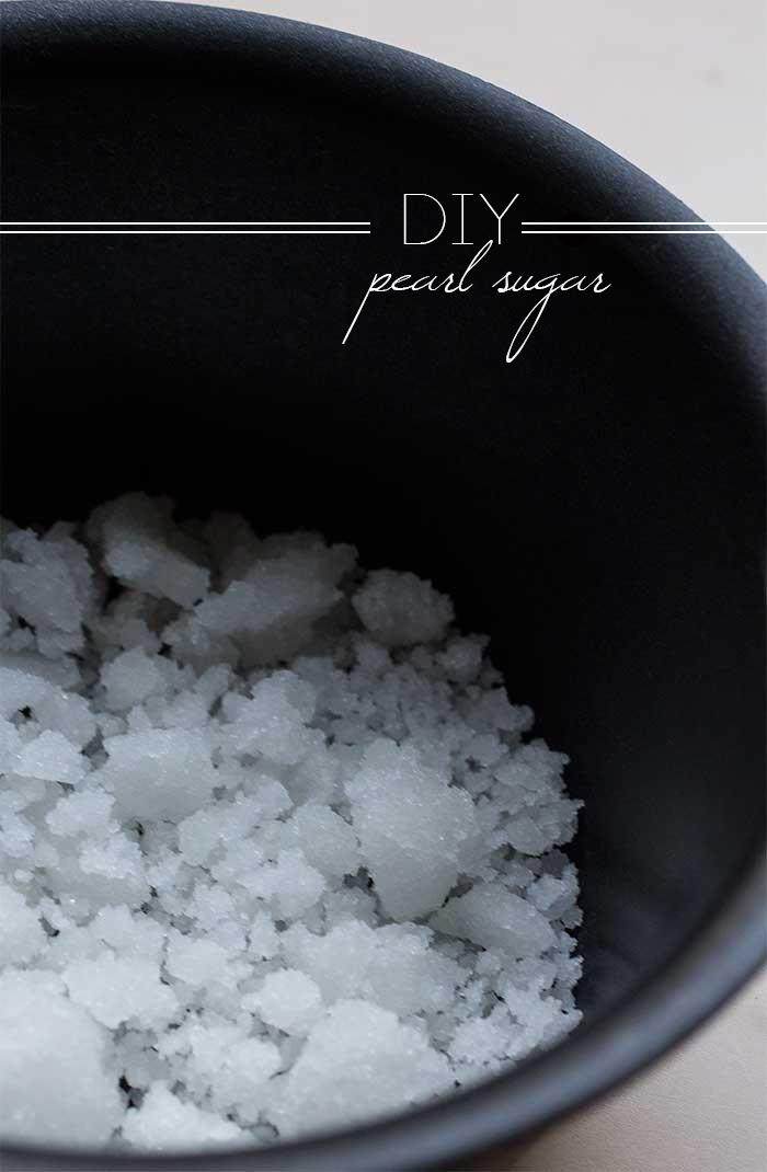 DIY Pearl Sugar // The Pancake Princess