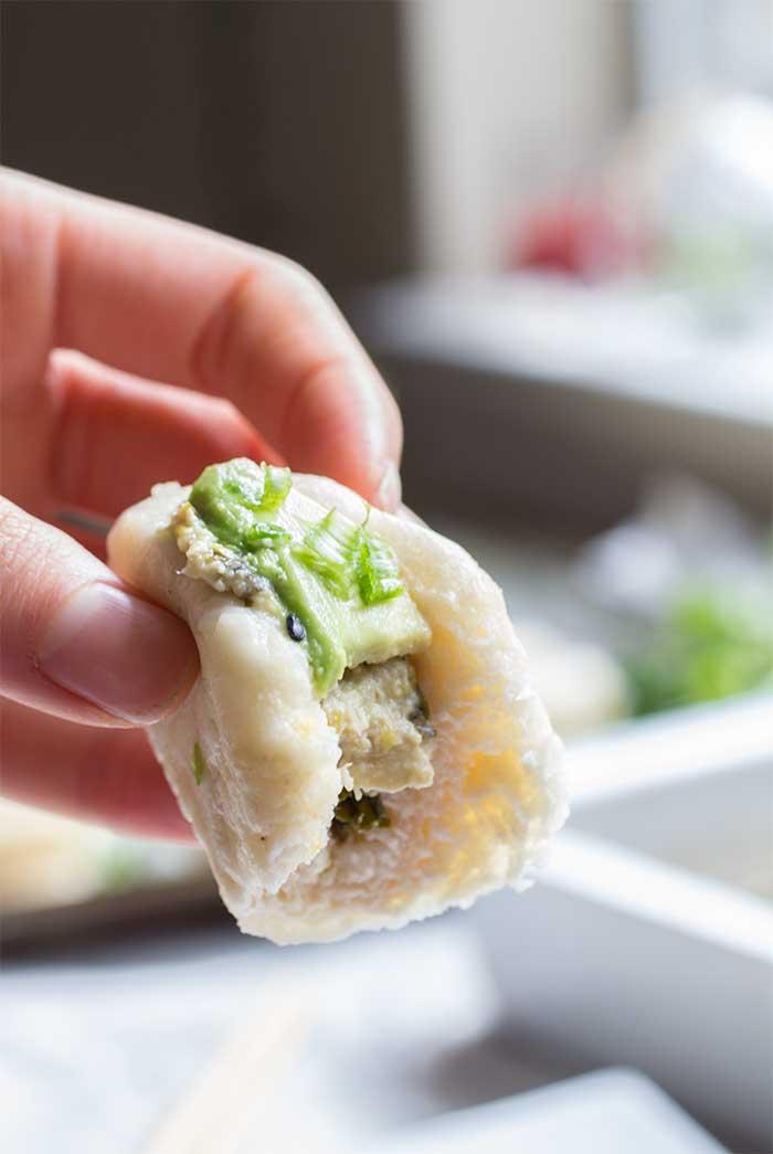Dumpling Dip with Baos // The Pancake Princess