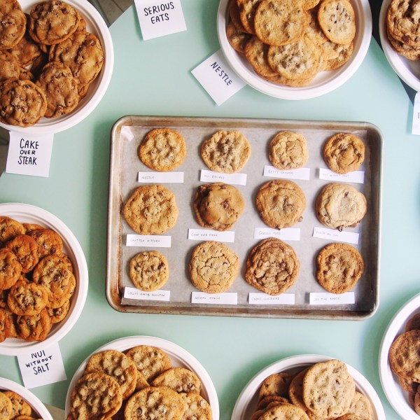 chocolate chip cookie bake off