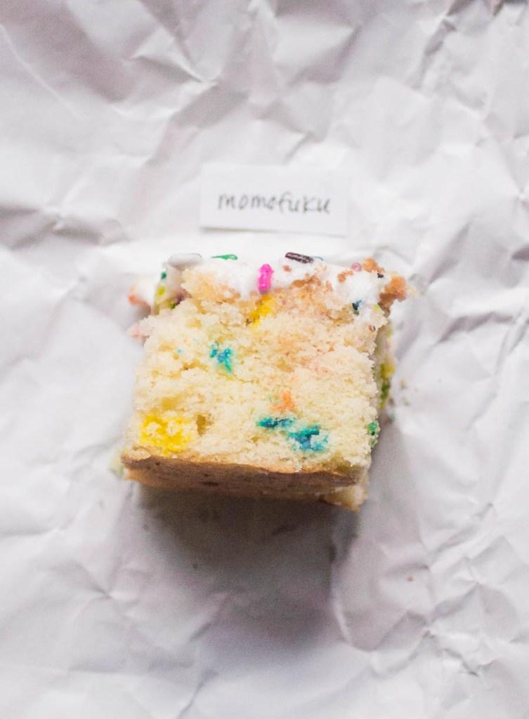 Momofuku sprinkle cake