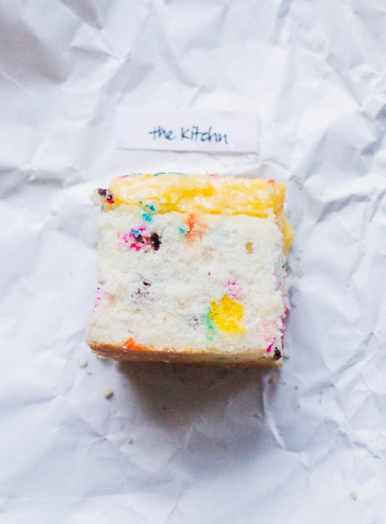 The Kitchn sprinkle cake
