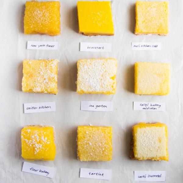 9 lemon bars lemon bar bake off