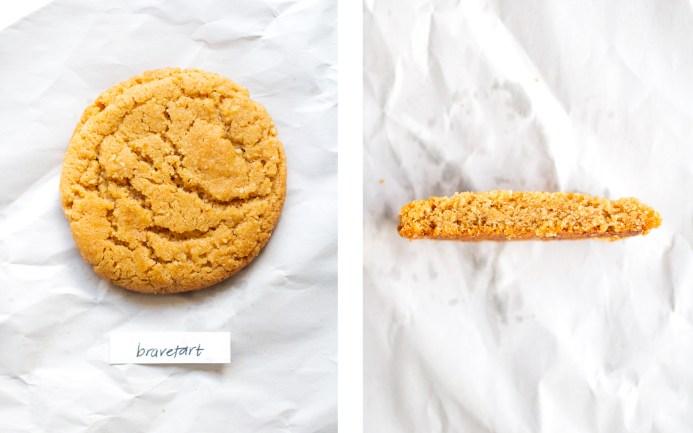 bravetart peanut butter cookie