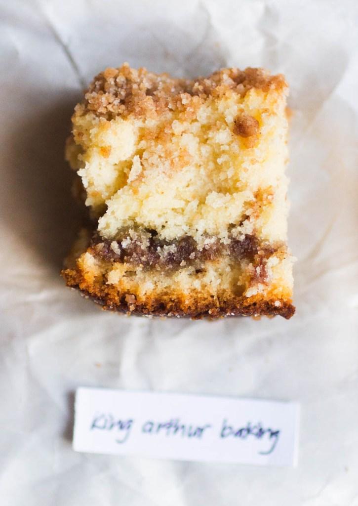King Arthur Baking Company Coffee Cake // The Pancake Princess