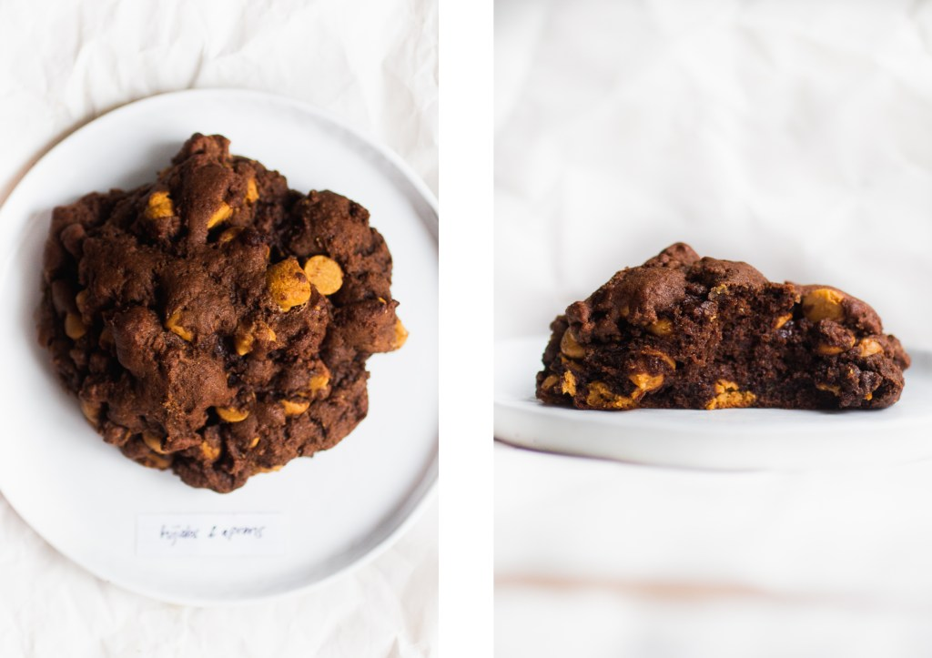 levain dark chocolate peanut butter cookie hijabs and aprons