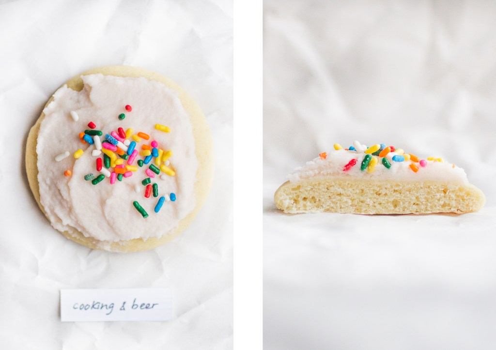 cooking and beer lofthouse copycat sugar cookie