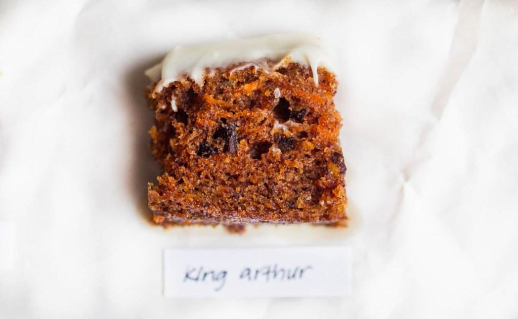king arthur carrot cake
