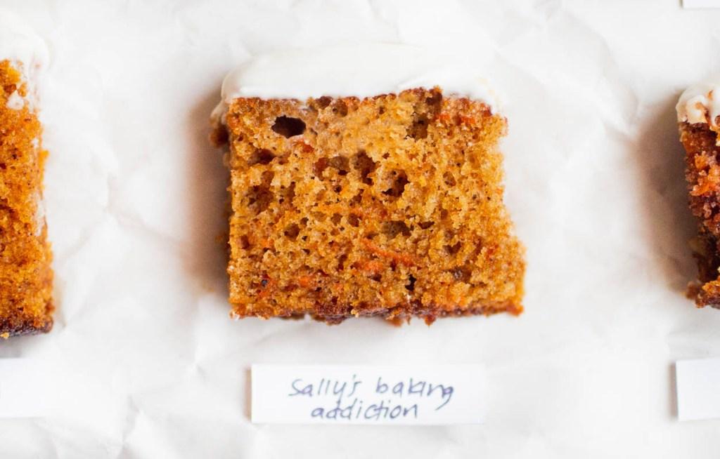 sally's baking addiction carrot cake