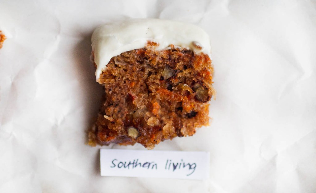 southern living carrot cake