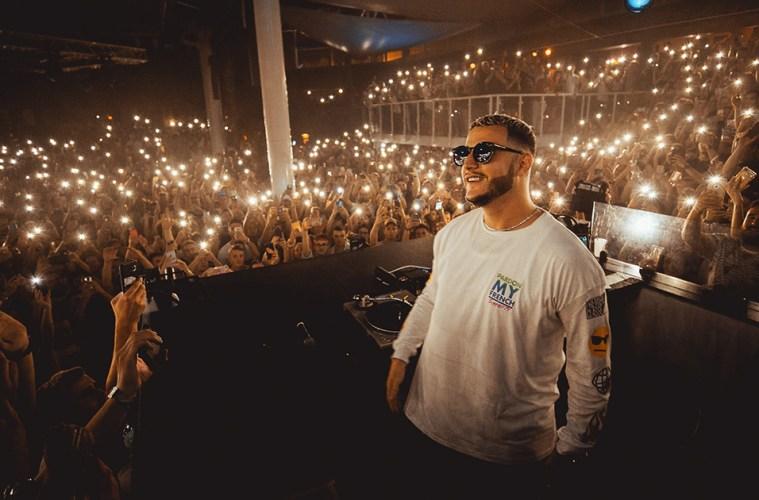 DJ Snake at Amnesia Nightclub in France on July 25, 2019. (Credit: Kelian Hess / @kelianhess)