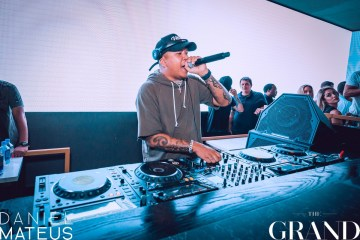 DJ Chuckie at the Grand Nightclub in Boston. (Credit: Daniel Mateus)