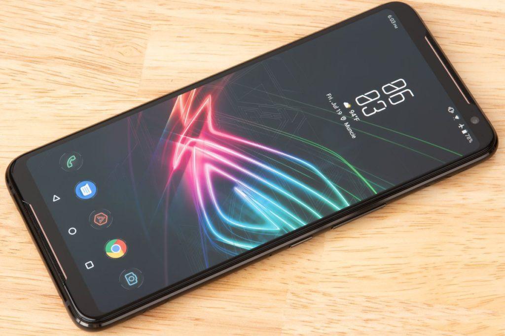 Asus's Rog Gaming phone 2 Design