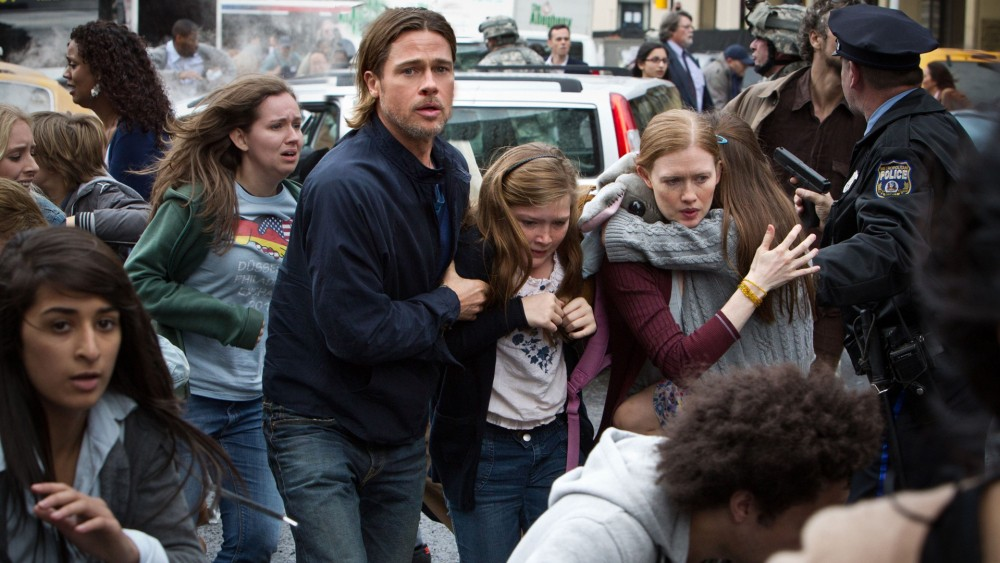 World War Z,  Brad Pitt Movie
