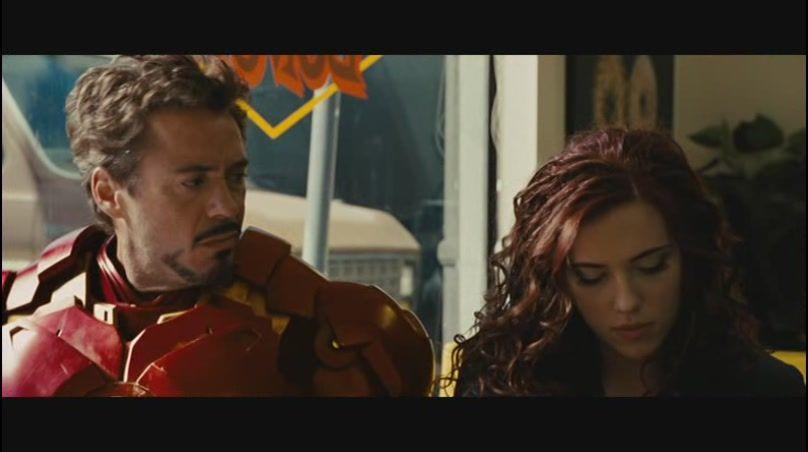Black Widow Iron man Returns