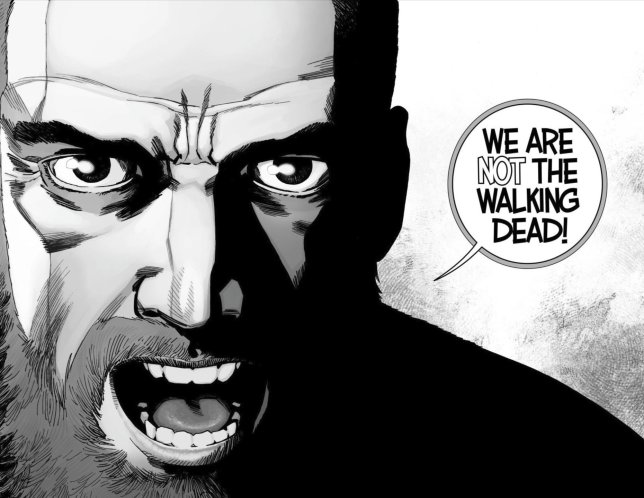 Walking Dead Rick Grimes Death