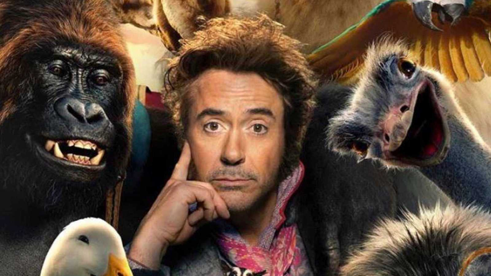 Robert Downey's Doctor Dolittle