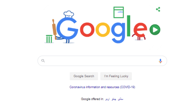 Google Doodle Games Homepage