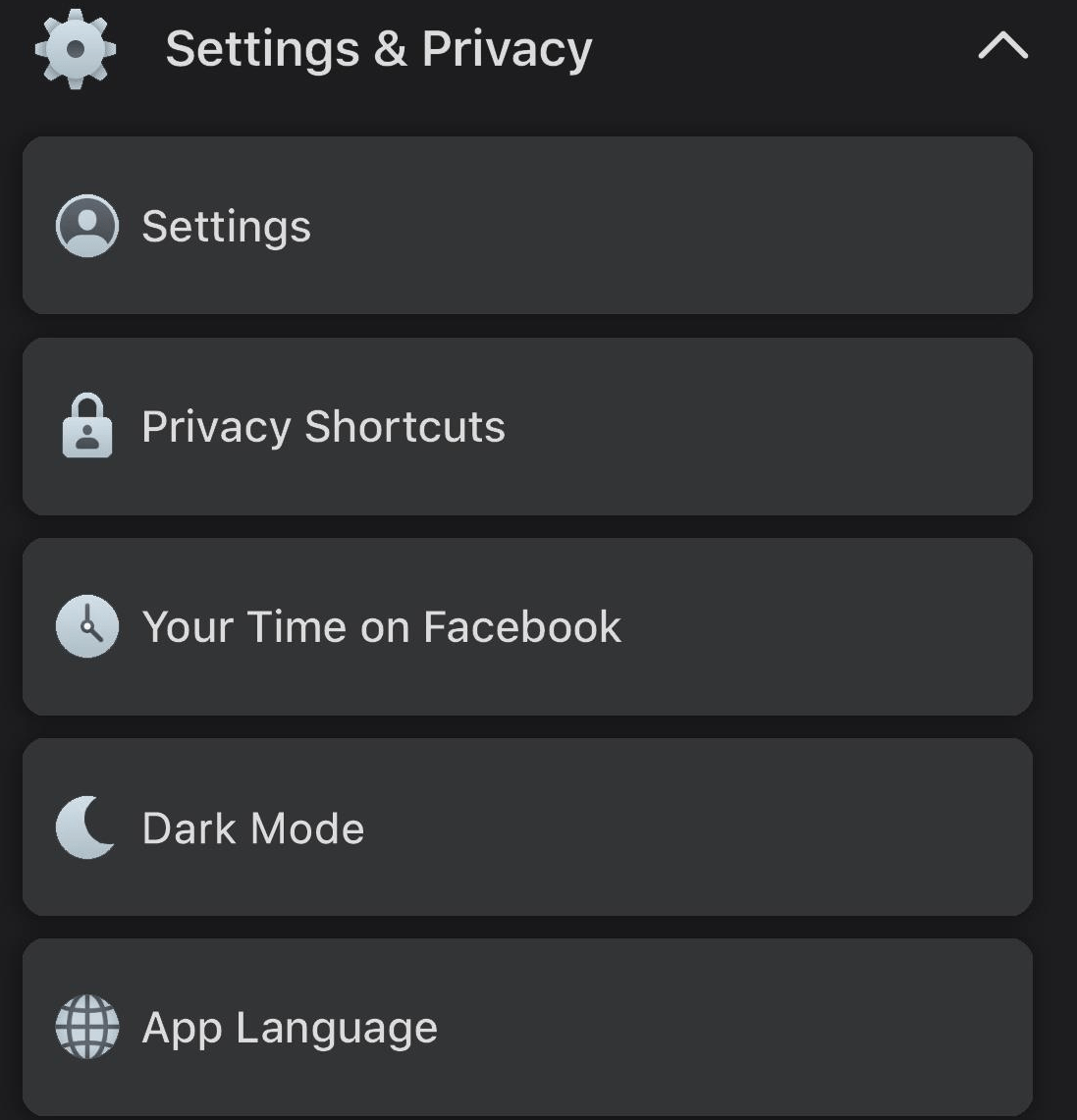 Facebook Dark Mode on Android Method 2020