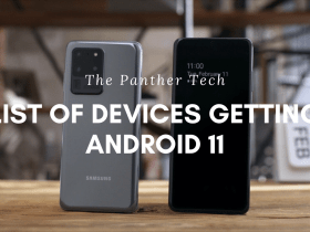List of devices getting Android 11