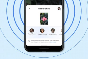 "How To Use ""Nearby Share"" Tool on Android"