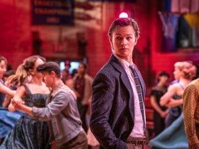 "Ansel Elgort in Steven Spielberg's ""West Side Story"""