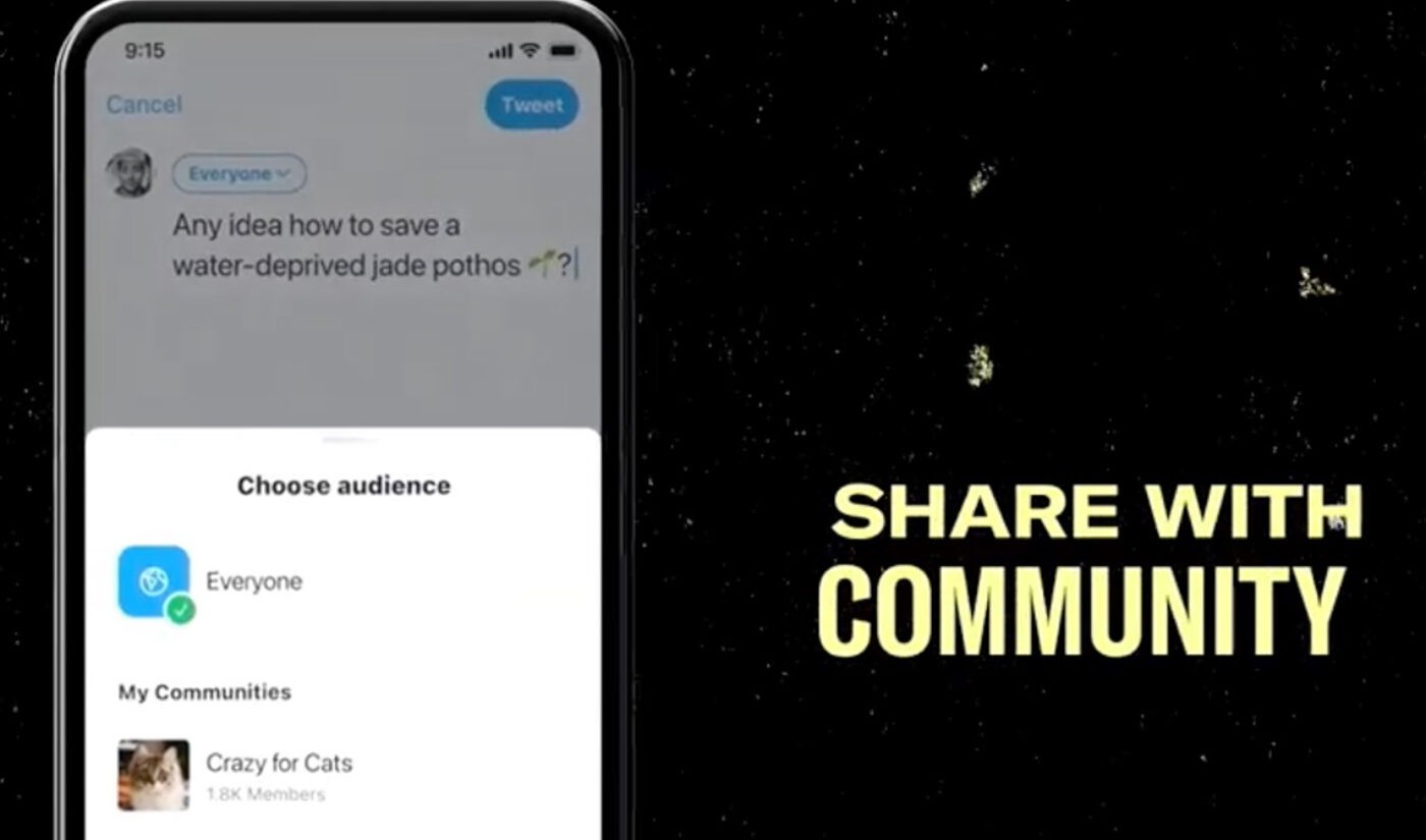 Twitter Communities: A Feature to Share Tweets with Specific Audiences