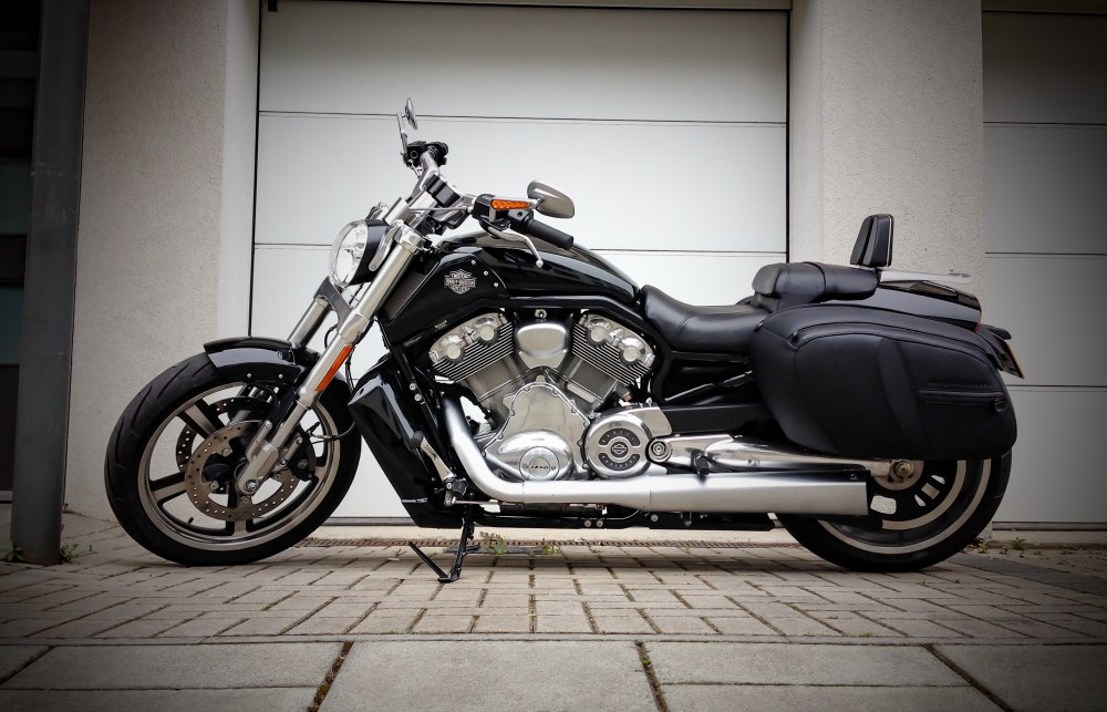 Harley Davidson V-rod muscle is reviewed by The Papa Gorilla