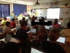 paperless classroom display