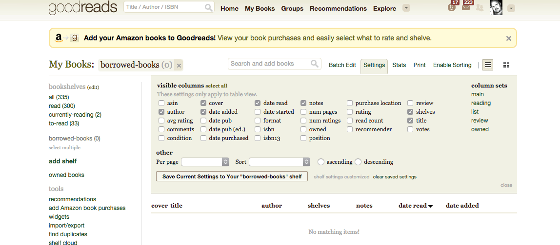 using goodreads as a classroom checkout system the paperless trail