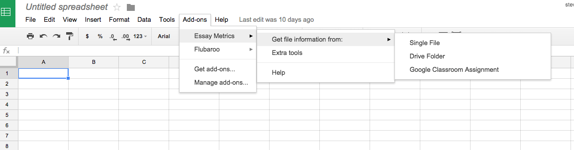 google sheets and essay metrics for writing the paperless trail  screenshot 2015 07 20 07 43 43