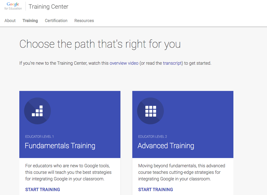 Google Certified Educator Level 1 | The Paperless Trail by ...