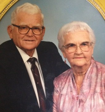 Giles and Evelyn Dodson, 1987