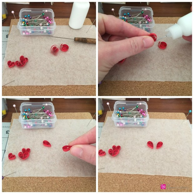 Beginning Steps to Creating a Basic Quilled Paper Heart How to make quilling paper hearts: 4 different ways