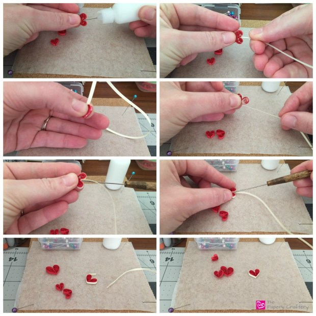 How to Make a Two Color Quilling Paper Heart, How to make quilling paper hearts : 4 different ways