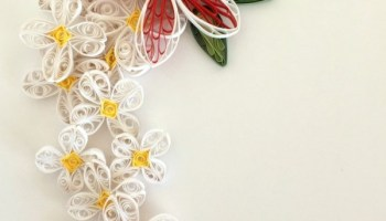 How to make simple quilling paper flowers daffodils and buds the how to make simple quilling paper flowers plumeria and lilacs mightylinksfo